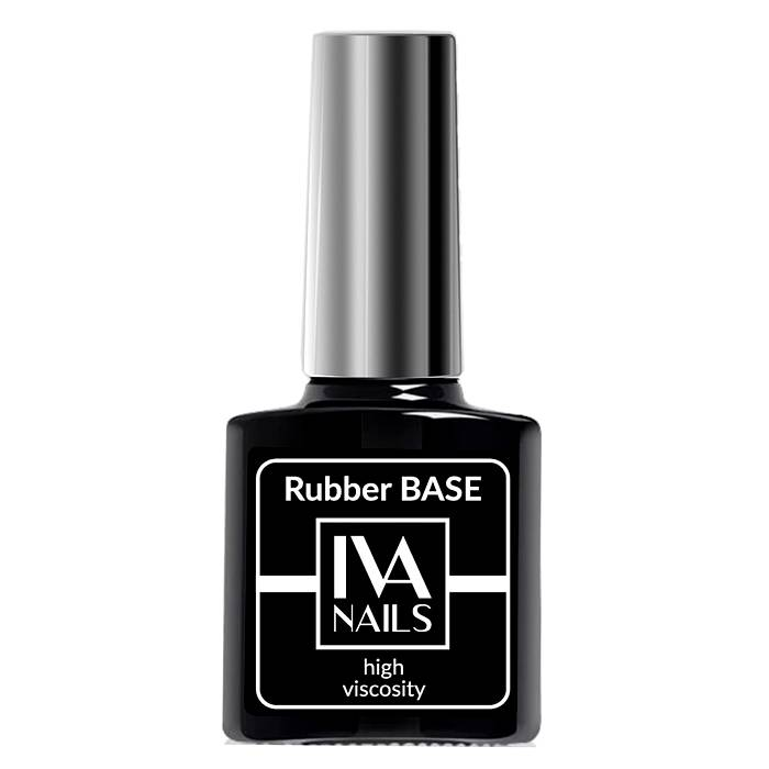 Rubber Base High Viscosity IVA NAILS, 8 мл