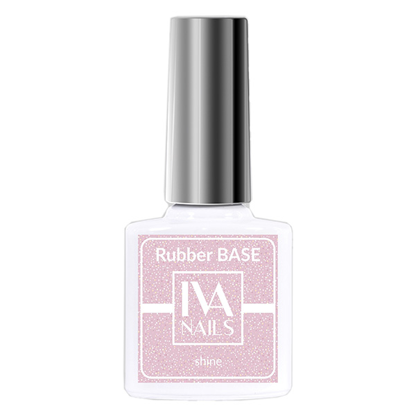 Rubber Base Shine IVA NAILS №04, 8 мл