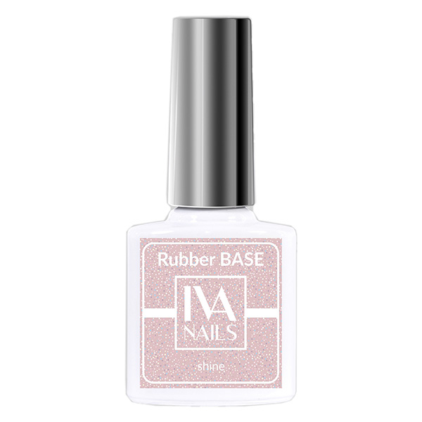 Rubber Base Shine IVA NAILS №06, 8 мл