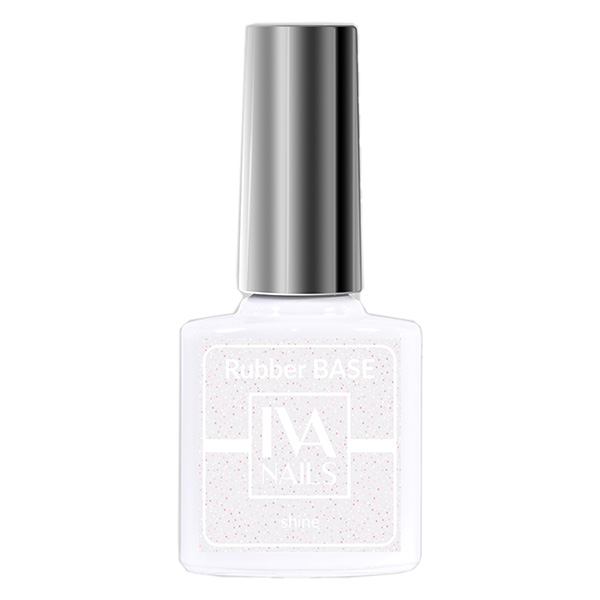 Rubber Base Shine IVA NAILS №01, 8 мл