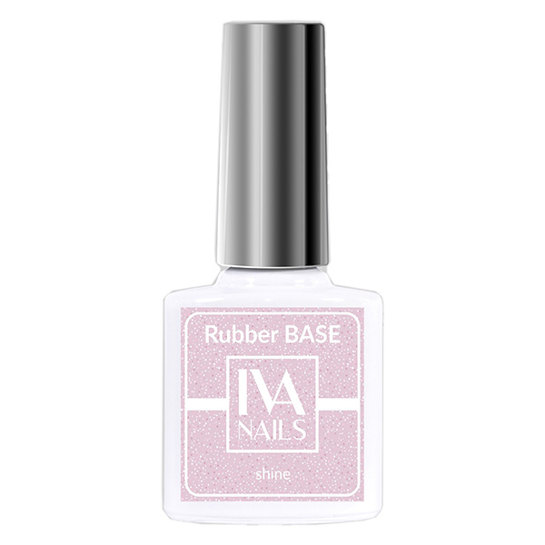 Rubber Base Shine IVA NAILS №03, 8 мл