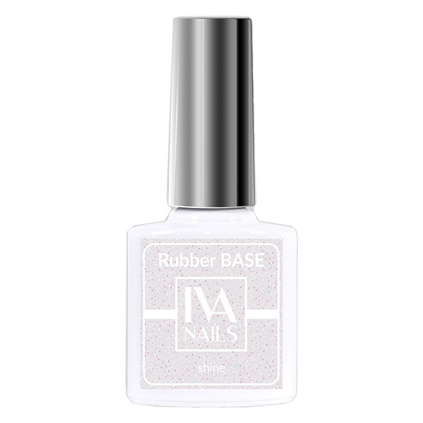 Rubber Base Shine IVA NAILS №02, 8 мл