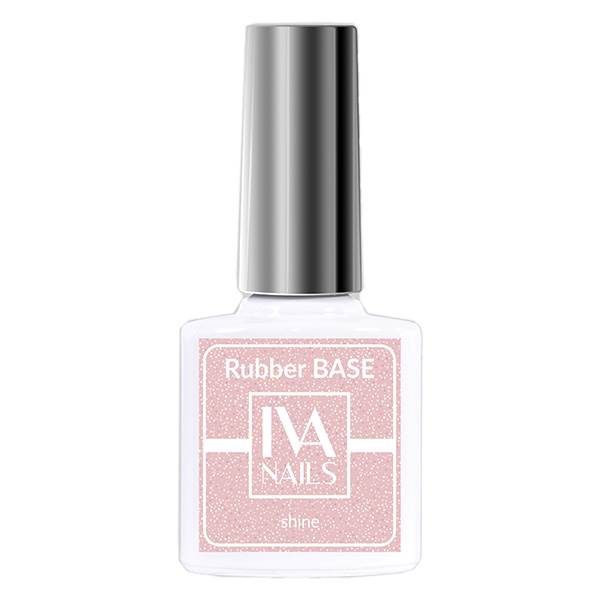Rubber Base Shine IVA NAILS №05, 8 мл